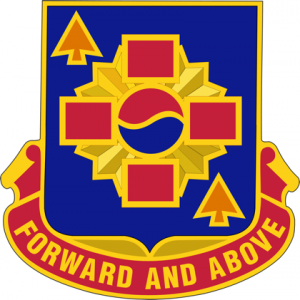 640th Support Battalion Unit Crest