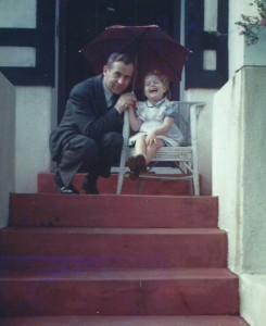 Eugen Banzhaf and daughter, Dr. Sigrid B. Toye