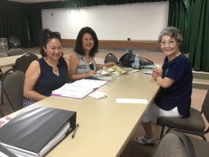 Donna Sugimoto and sister, Terri Sugimoto Bell Ritsuko Shinbashi, translator